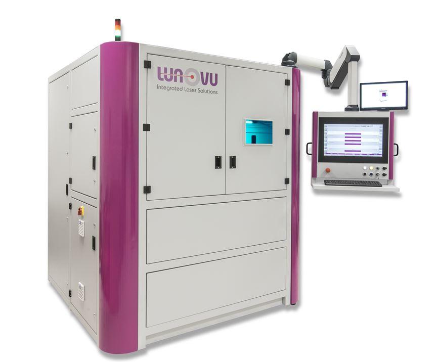 Lunovu's Laser Metal Deposition (LMD) system