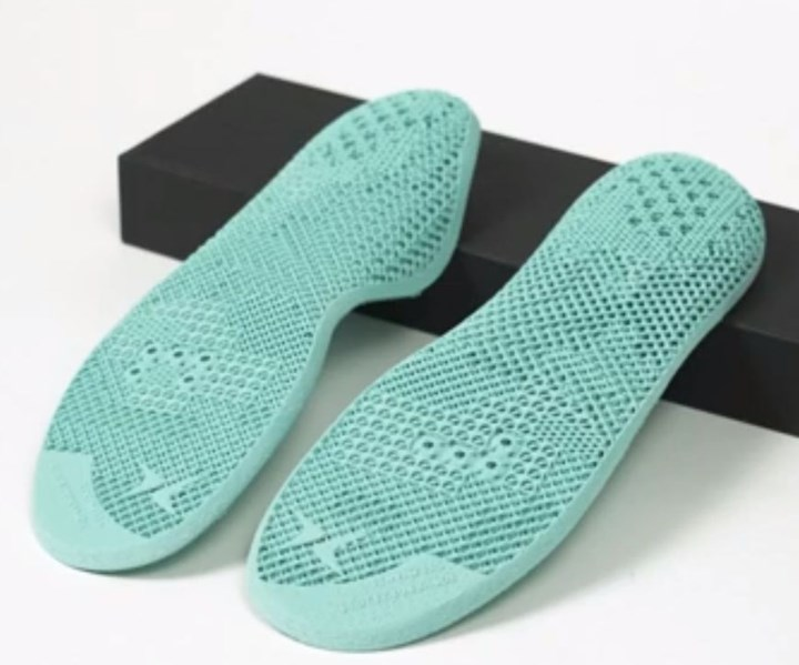 Aetrex 3D printed insoles