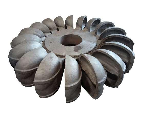 stainless steel cast Pelton runner
