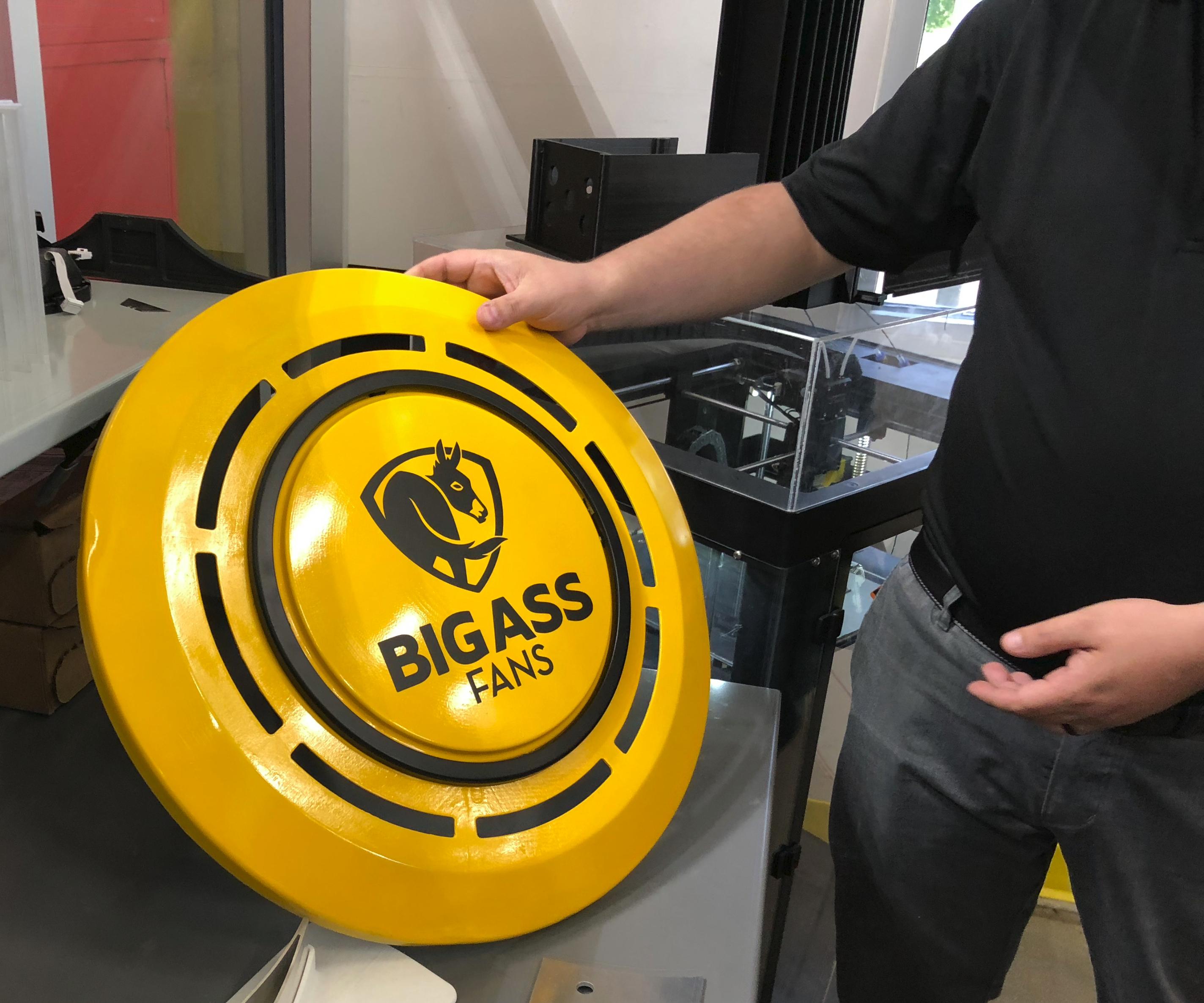 3D-printed motor cover