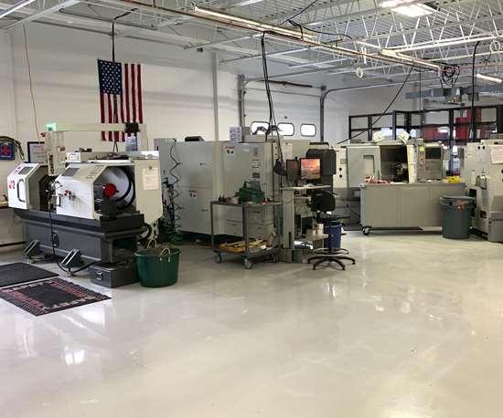 Machine shop at Incodema3D