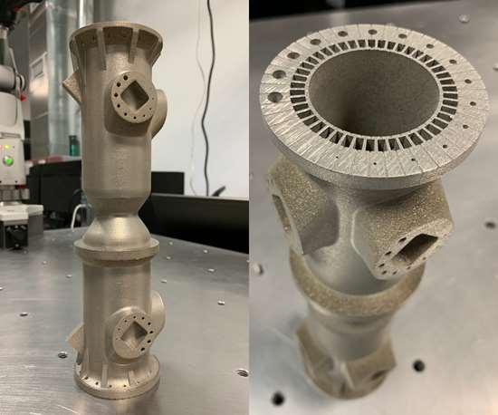 3D-printed rocket launcher nozzle