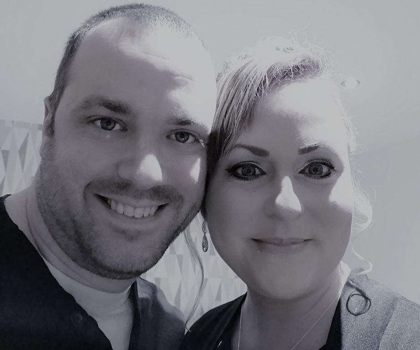 Matthew and Rebekah Farmer, founders, Pengraff UK