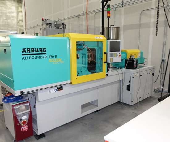 Arburg Allrounder 370 E injection molding press