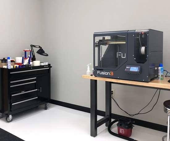 Fusion polymer 3D printer