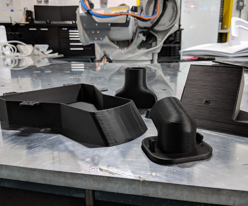 3D-printed air handling components