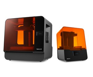 Formlabs Form 3 and Form 3L Low Force Stereolithograpy (LFS) 3D printers.