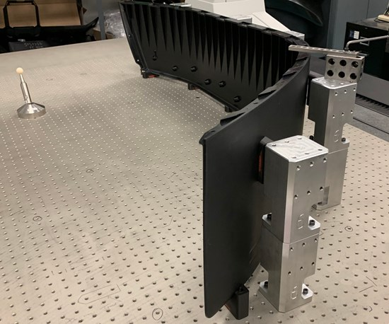 3D Printed Fixtures Speed Setup for Inspection