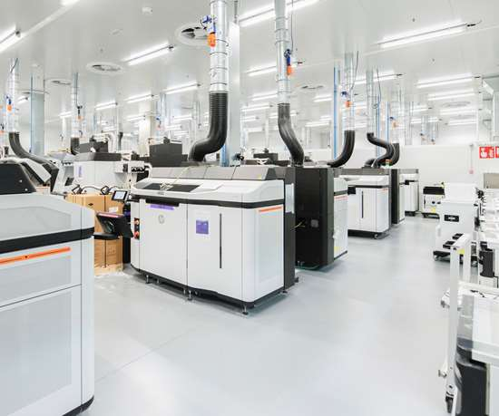 R&D Multi Jet Fusion lab at HP's Barcelona Center of Excellence