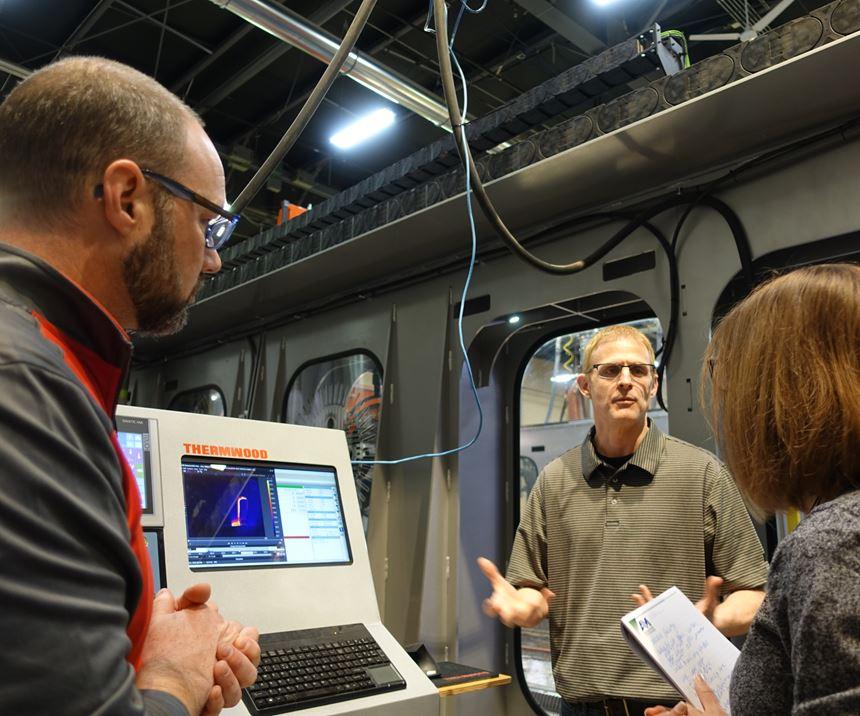 Jason Susnjara and Scott Vaal explaining Continuous Cooling
