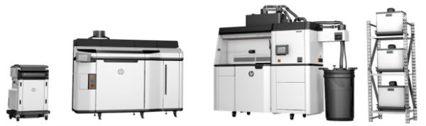 HP 5200 3D printing system