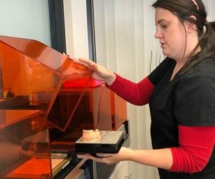Dental Lab Brings 3D Printing into Digital Dentistry Workflow