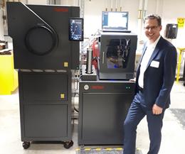 Rapidia Installs First 3D Metal Printer