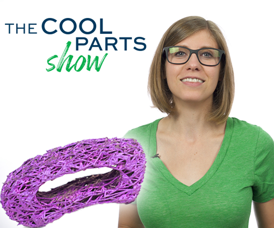 The Cool Parts Show topology optimized spine implant