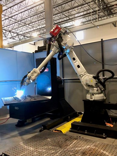 robotic 3d printing cell