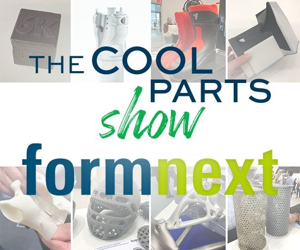 The Cool Parts Show at Formnext 2019