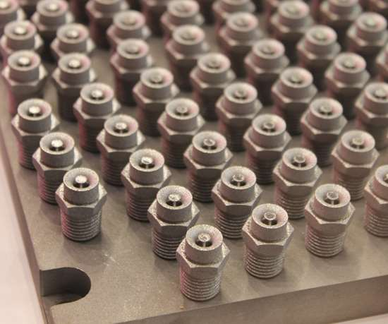 3D printed Injection nozzles