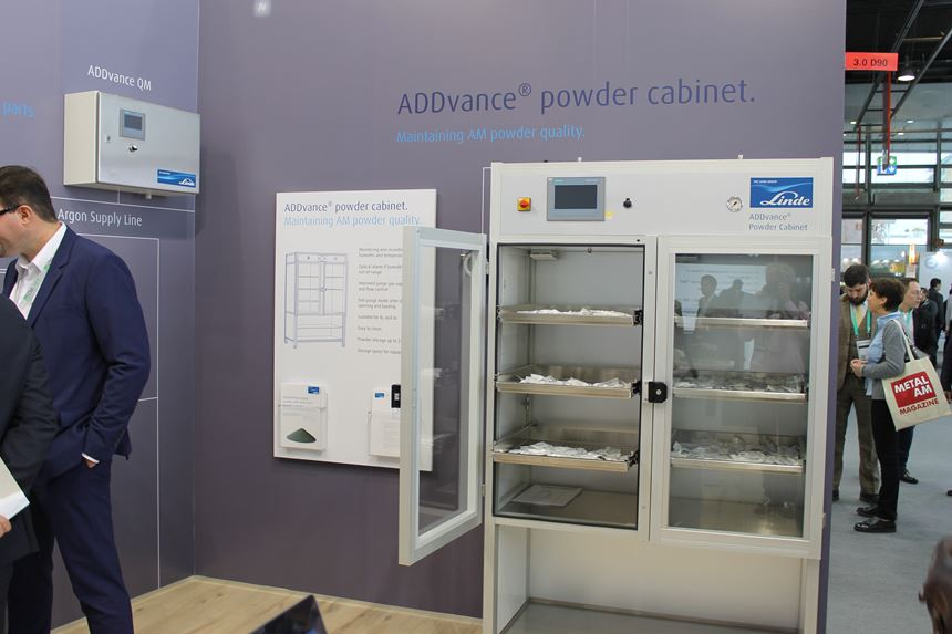 ADDvance powder cabinet by Linde