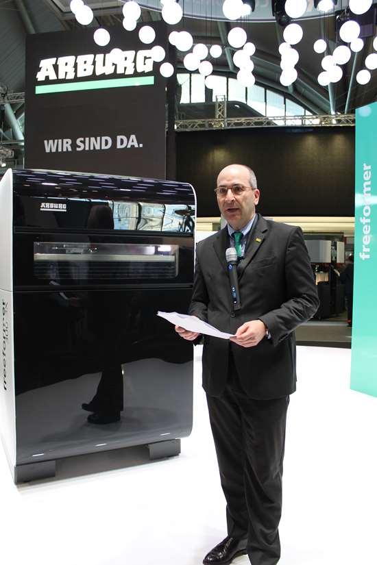 Heinz Gaub, managing director of technology & engineering at Arburg