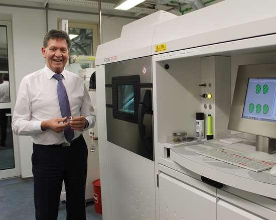 Hans Keller,director of research & development production, Aesculap