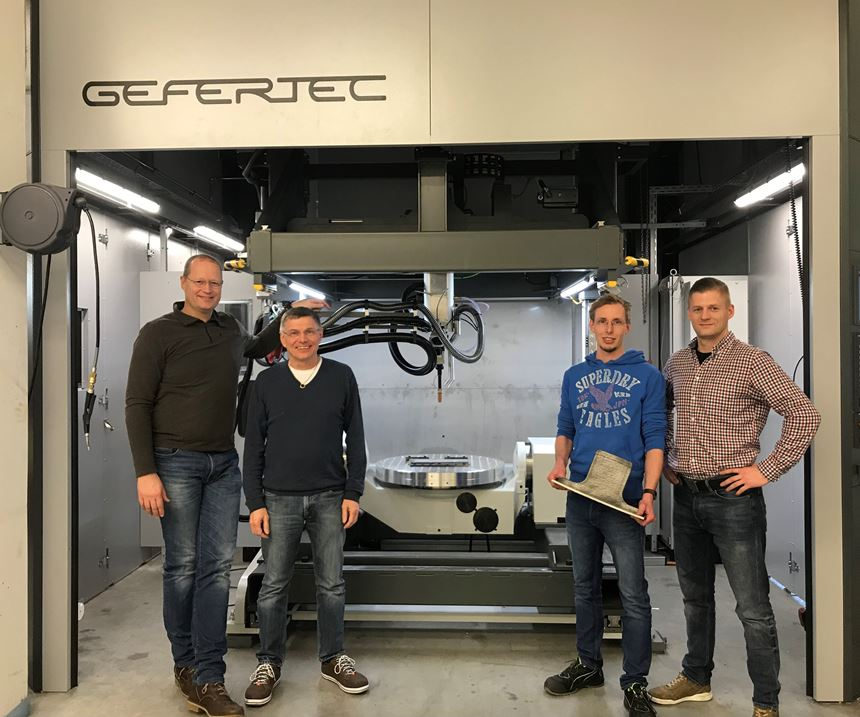 Gefertec arc605 at Aircraft Philipp