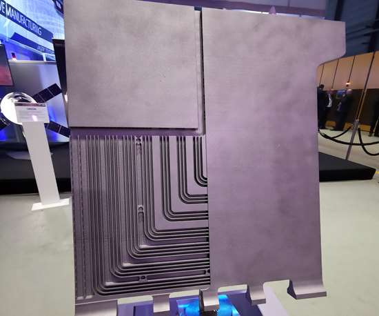 cooling plate for battery systems in e-vehicles