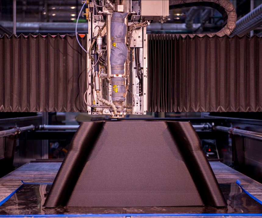large format additive manufacturing for autoclave tooling
