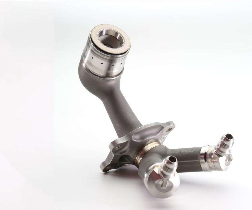 GE Aviation LEAP fuel nozzle