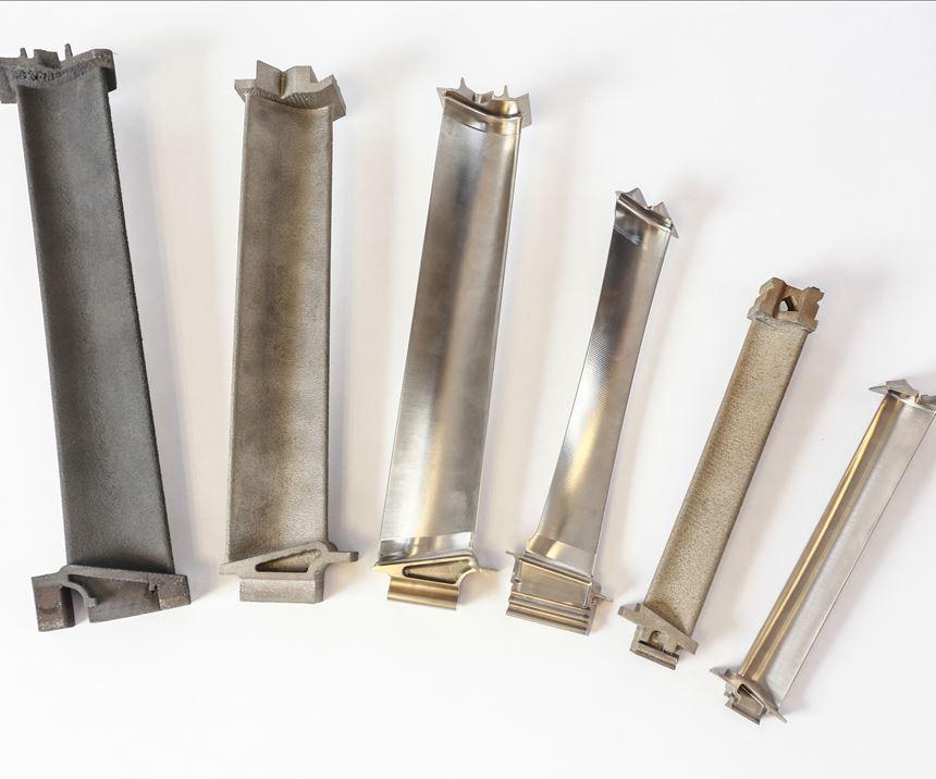 GE Aviation 3D-printed LTP blades