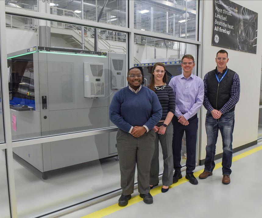 additive manufacturing aerospace GE aviation and ATC team