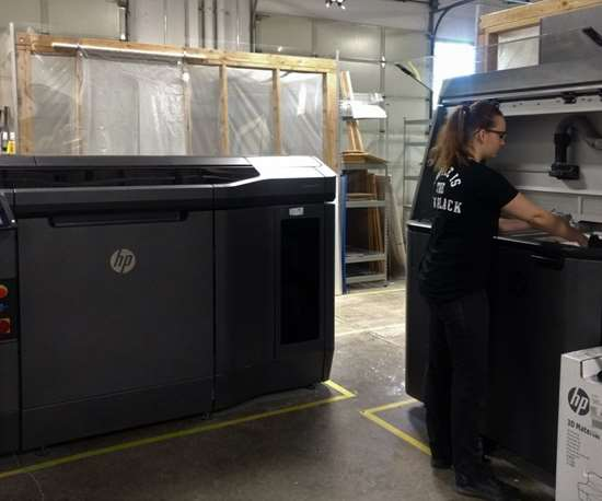 HP Multi Jet Fusion 3D printing at RapidMade
