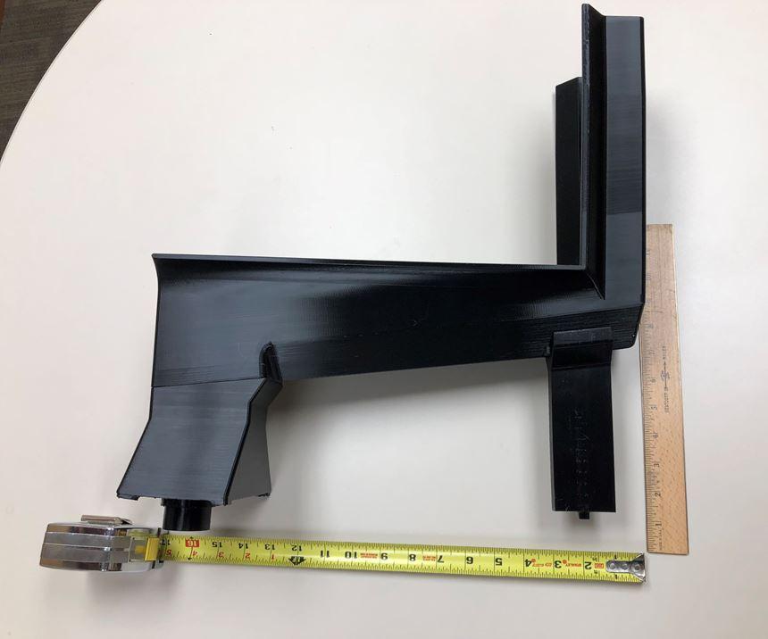 3D printed machine component at Pella
