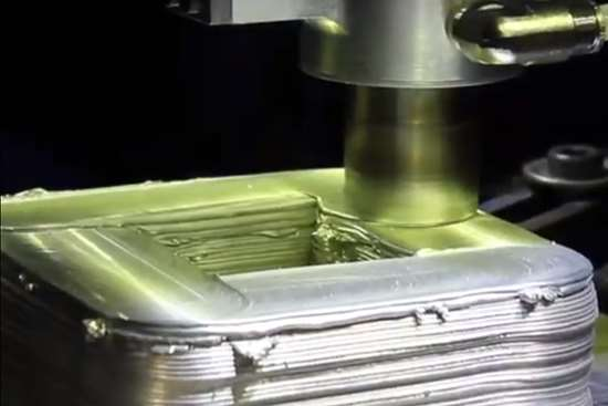 friction stir welding for additive manufacturing