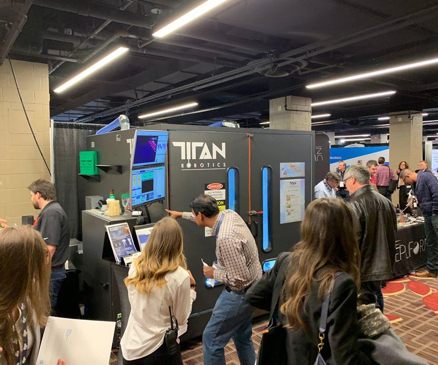 Titan Robotics hybrid machine