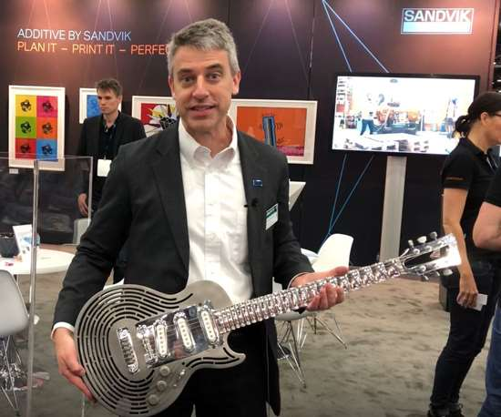 Peter Zelinski of Additive Manufacturing Media at Rapid + TCT 2019