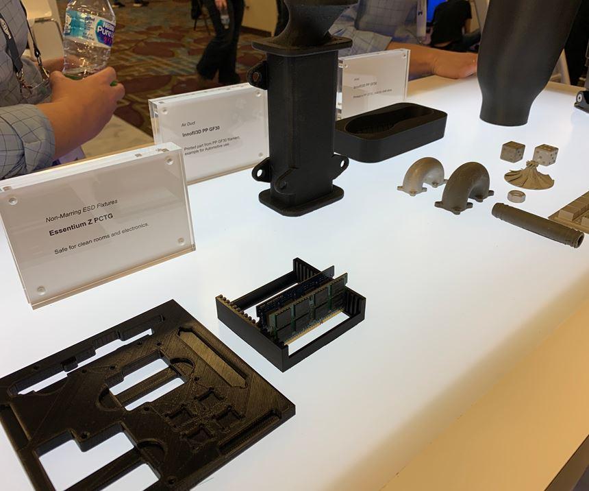 parts produced on Essentium 3D printer