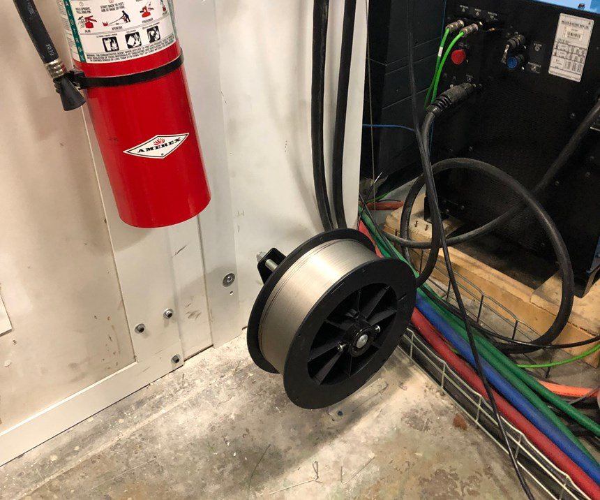 weld wire for addere robot additive manufacturing