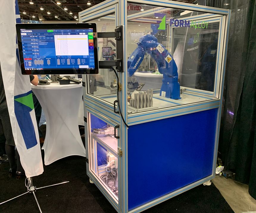 Robot in additive manufacturing is programmable via G code