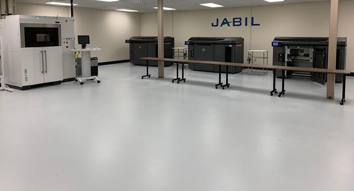Jabil additive manufacturing area