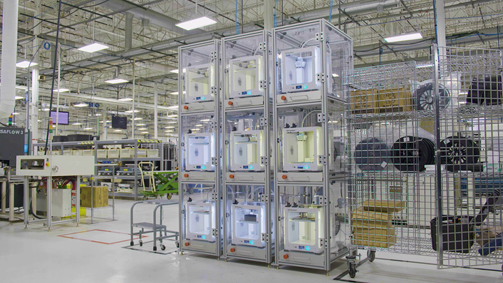 ultimaker 3D printers used for tooling by jabil at auburn hills plant