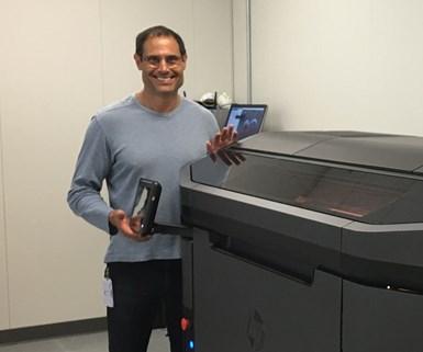 John Dulchinos is Jabil's VP of 3D printing and digital manufacturing.