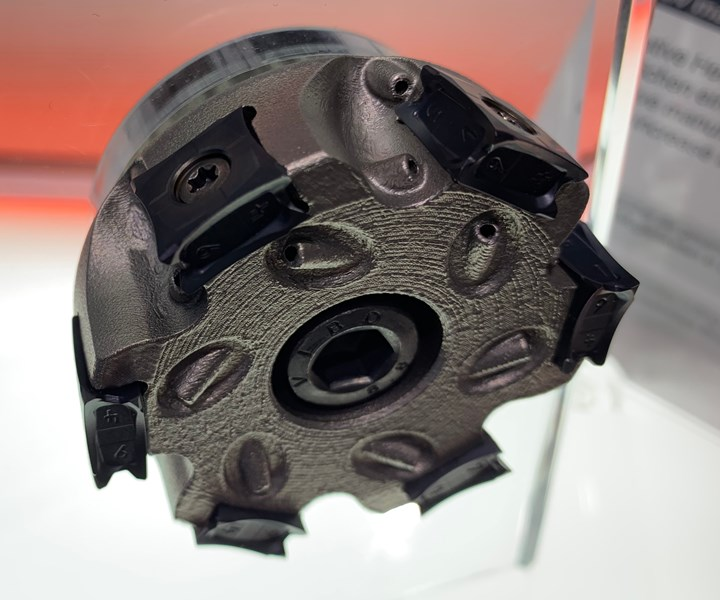 LMT milling tool made from additive manufacturing