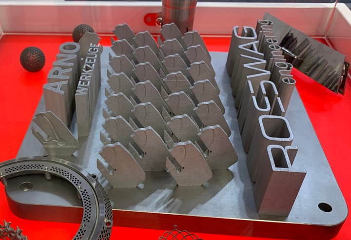 Arno turning toolholders made from additive manufacturing