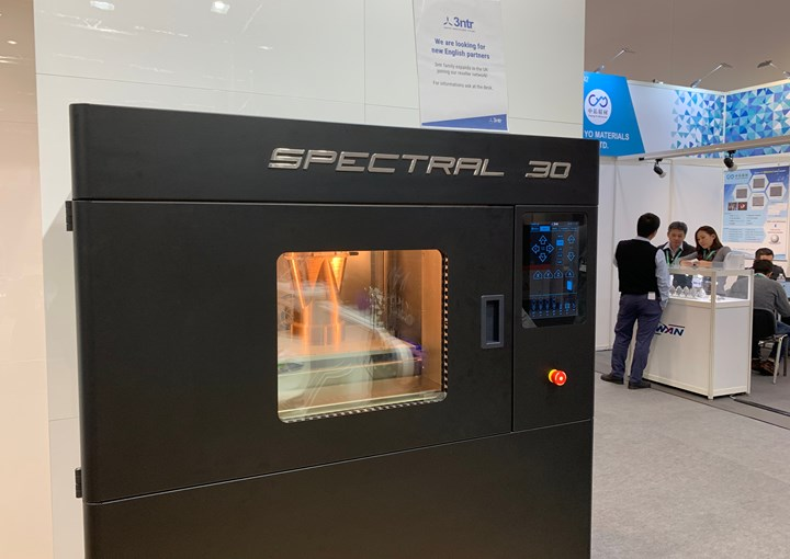 Spectral 3D printer from 3ntr