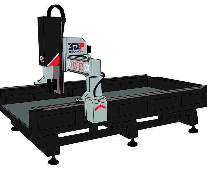 3D Platform's WorkCenter 500