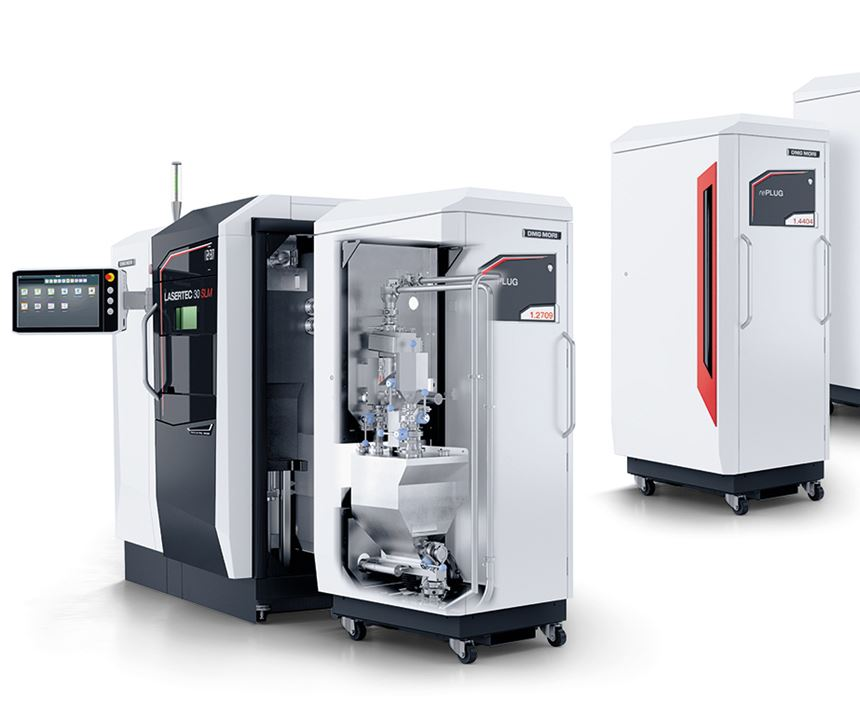 DMG MORI Lasertec 12 SLM machine.