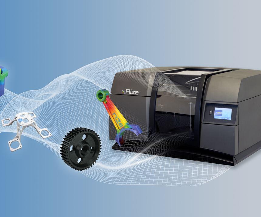 Rize's XRize desktop 3D printer