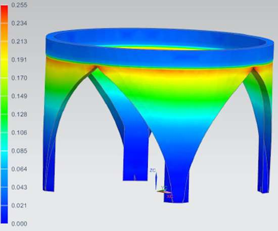 Siemens' AM process simulation tool, part of its Simcenter 3D solution