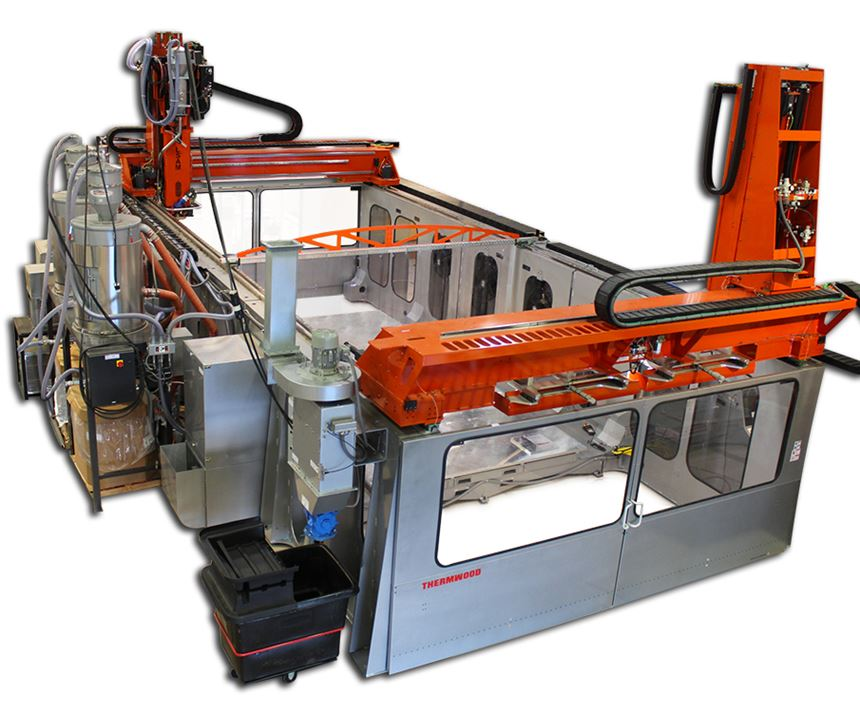 Thermwood's Large Scale Additive Manufacturing (LSAM) system