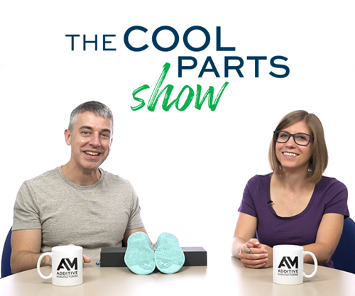 Shoe Insoles Precisely Tailored to Individual Feet: The Cool Parts Show S1E4